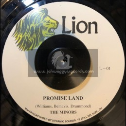 """Lion-7""""-Promise Land / The Minors"""