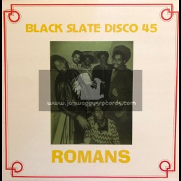"Romans / Black Slate - 12""-Test Press-Dubplate Versions"