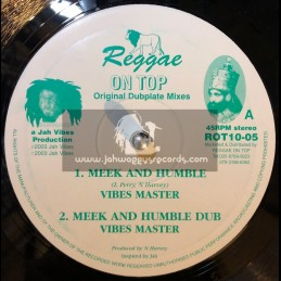 "Reggae On Top-10""-Meek And Humble + Undertaker / Vibes Master"
