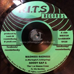 "R.I.T.S Records-7""-Madness Badness / Goody Gap"