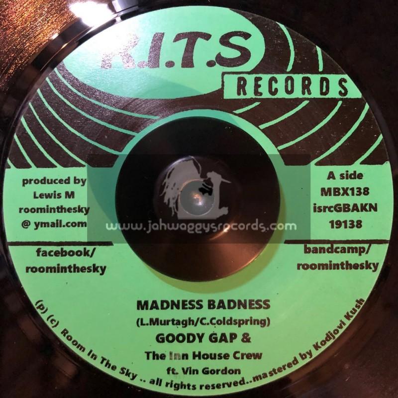 "R.I.T.S Records-7""-Madness Badness / Goody Gap"