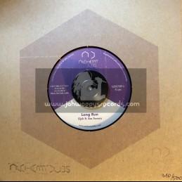 "Alchemy Dubs-7""-Long Run / Ojah Feat. Ras Tavaris"