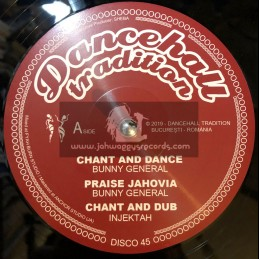 """Dancehall Tradition-12""""-Chant And Dance / Bunny General"""