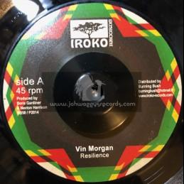 """Iroko Records-7""""-Resilience / Vin Morgan"""