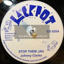 "Jackpot-7""-Stop Them Jah / Johnny Clarke"