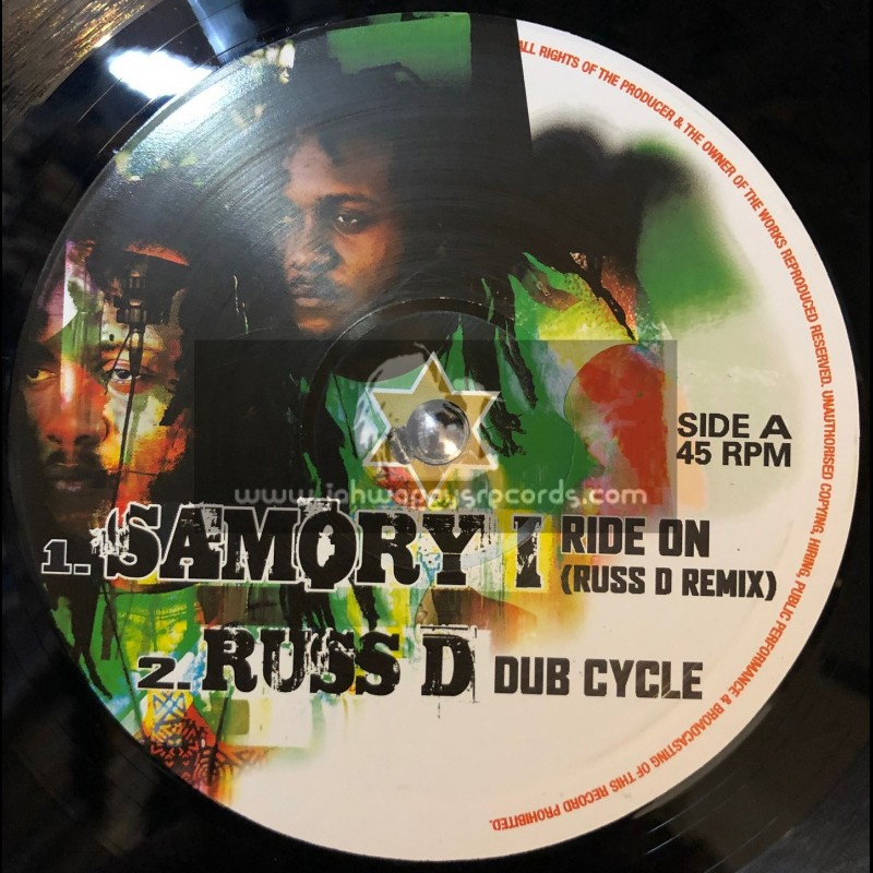"Maximum Sound-10""-Ride On / Samory I - Russ D Remix"