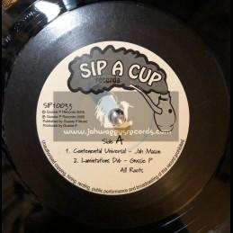 "Sip A Cup Records-10""-Continental Universal / Jah Mason"