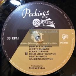 Peckings Records-Lp-Serial Killers / Various Treasure Isle Dubwize