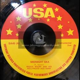 "USA-7""-Midnight Ska / Reggie Msomi And His Hollywood Jazz Band + Blue Ska / Reggie Msomi And His Hollywood Jazz Band"