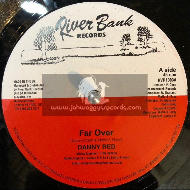 """River Bank Records-10""""-Far Over / Danny Red"""