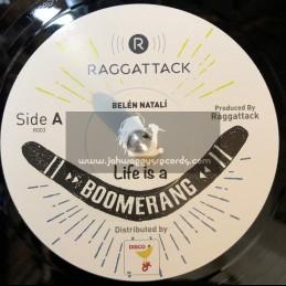 """Raggattack-7""""-Life Is A Boomerang / Belén Natali"""