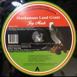 """African Grey Productions-12""""-Shashamane Land Grant / Joy Mack"""