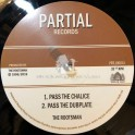 """Partial Records-10""""-Pass The Chalice / The Rootsman + Tribal Dervish / The Rootsman"""