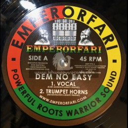 "Emperorfari-12""-Dem No Easy / R. Zee Jackson Meets Mighty Prophet"