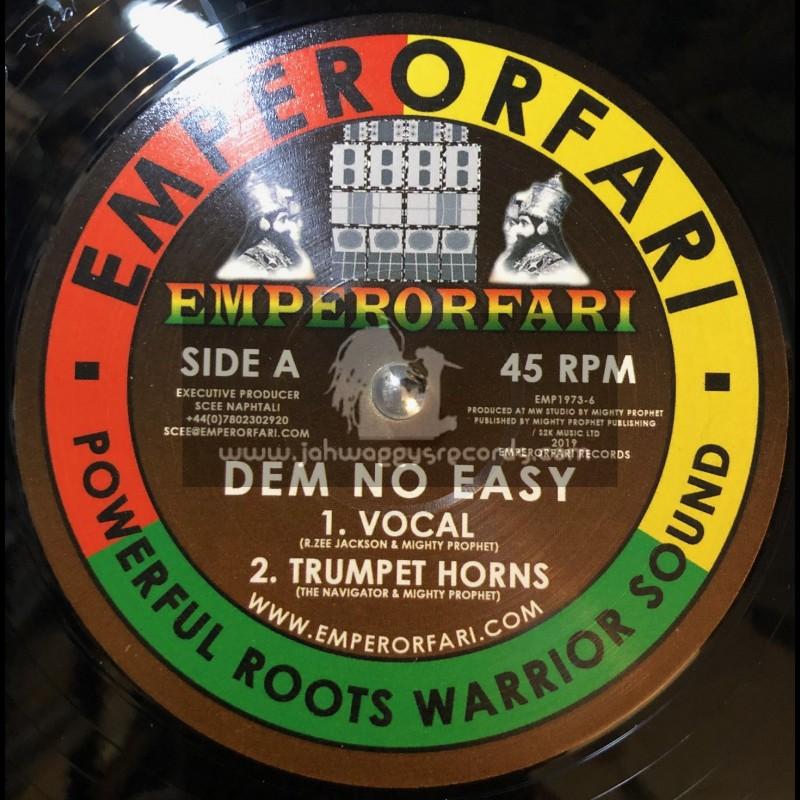 "Emperorfari-12""-Dem No Easy / R. Zee Jackson Meets Mighty Prophet"