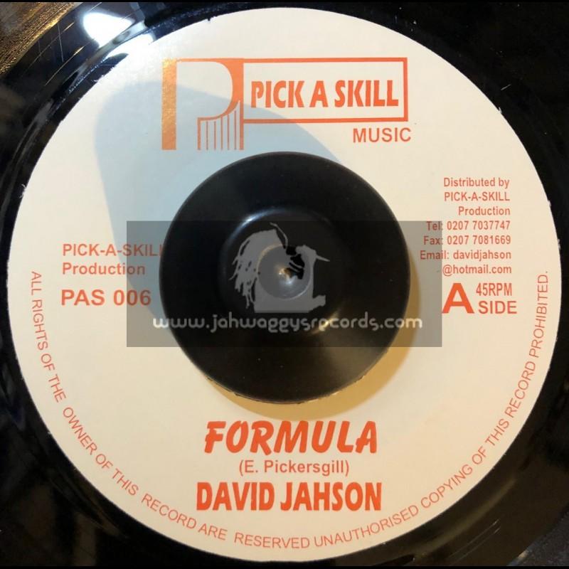 "PICK A SKILL 7""-FORMULA/DAVID JAHSON"
