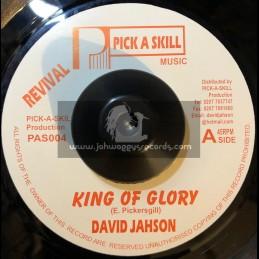 "Pick A Skill-7""-King Of Glory / David Jahson"