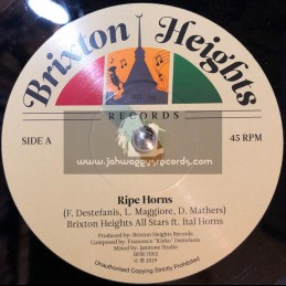"""Brixton Heights-7""""-Ripe Horns / Brixton Heights All Stars Feat.Ital Horns"""