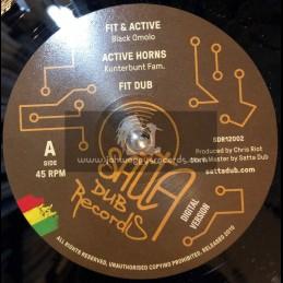 """Satta Dub Records-12""""-Fit & Active / Black Omolo"""