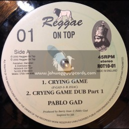 "Reggae On Top-10""-Crying Game / Pablo Gad"