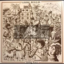 Blackboard Jungle-LP-Living Reggae / Spring Wata & The Rockers Disciples