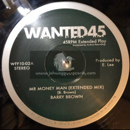 """Wanted 45-10""""-Mr Money Man / Barry Brown-King Tubbys & The Aggrovators"""