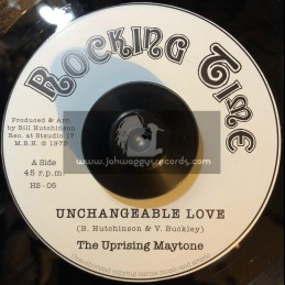 "Rocking Time-Hornin Sounds-7""-Unchangeable Love / The Uprising Maytone"
