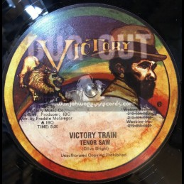 "BLACK VICTORY-12""-VICTORY TRAIN / TENOR SAW"