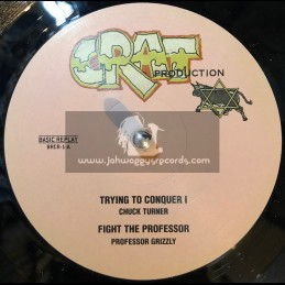 """CRAT PRODUCTION-12""""-TRYING TO CONQUER I/CHUCK TURNER + FIGHT THE PROFESOR/PROF GRIZZLY"""
