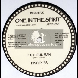 """One in the spirit records-12""""-Faithful Man - Disciples"""