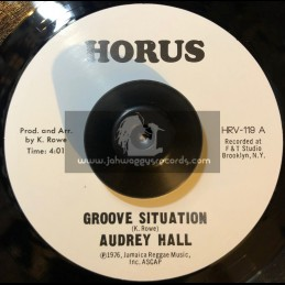 """Horus-7""""-Groove Situation / Audrey Hall + Situation / J. R. M. Orchestra"""