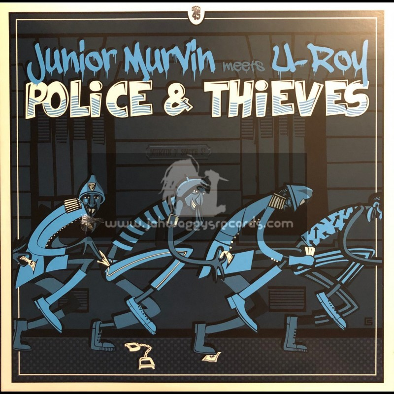 "Broken Stick Records-12""-Police & Thieves / Junior Murvin + Mr War Officer / U Roy"