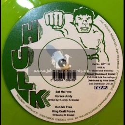 "Hulk-12""-Set Me Free / Horace Andy + Do Right / Horace Andy"