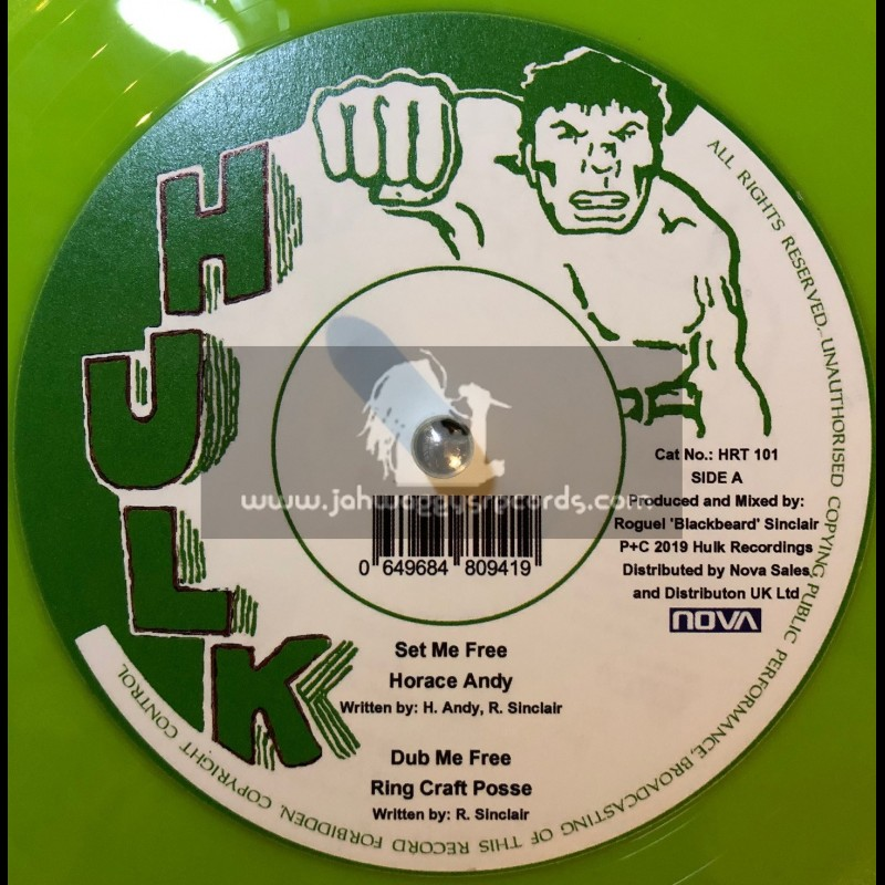 """Hulk-12""""-Set Me Free / Horace Andy + Do Right / Horace Andy"""