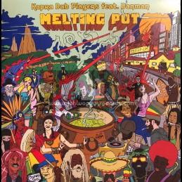"Capra Records-12""-Melting Pot / Kapra Dub Players Feat. Danman"