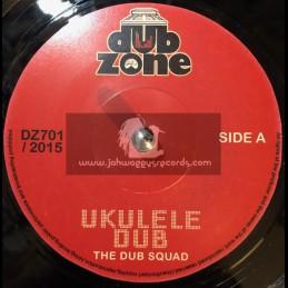 """Dub Zone Records-7""""-Ukulele Dub / The Dub Squad"""