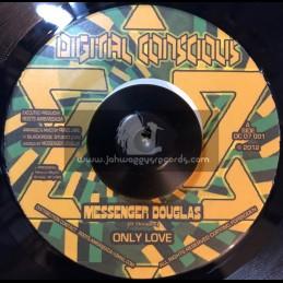 "Digital Conscious-7""-Only Love / Messenger Douglas"