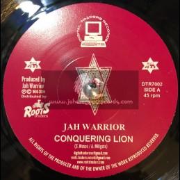 "Digital Traders Records-7""-Conquering Lion / Jah Warrior"