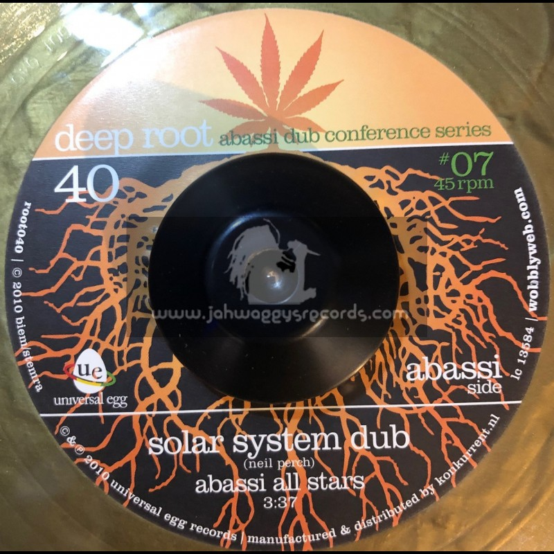 """Deep Root - 7"""" - Solar System / Abassi All Stars"""