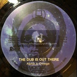 """Digital Traders-7""""-The Dub Is Out There / Alpha And Omega"""