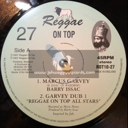 "Reggae On Top-10""-Marcus Garvey / Barry Issac"