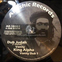 "Akashic Records-10""-Vanity / Dub Judah And King Alpha"