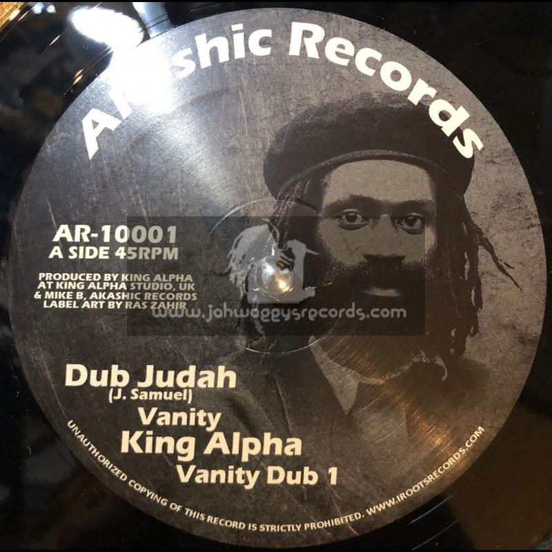 "Akashic Records-10""-Vanity / Dub Judah And King Alpha"