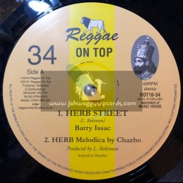 "Reggae On Top-10""-Herb Street / Barry Isaacs"