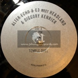"Khaliphonic Records-10""-Temple Duel / Alter Echo And e3 Meet Headland And Diggory Kenrick"