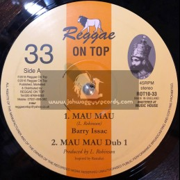 "Reggae On Top-10""-Mau Mau / Barry Isaacs"