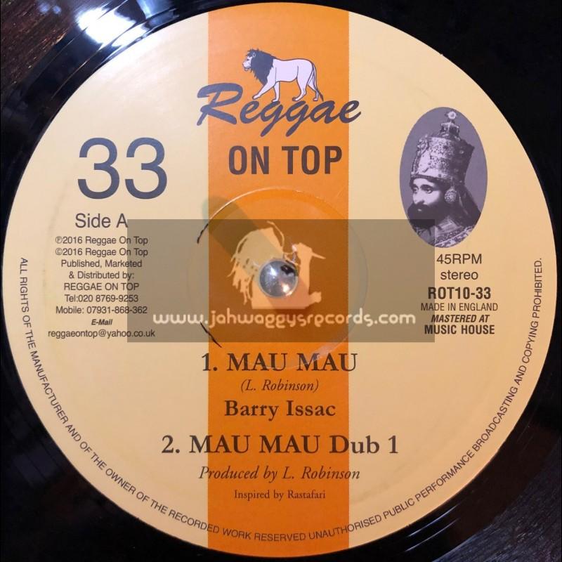 """Reggae On Top-10""""-Mau Mau / Barry Isaacs"""
