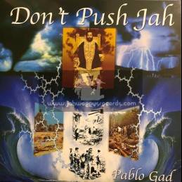 Reggae On Top-LP-Dont Push Jah / Pablo Gad