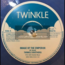 "Twinkle Records-12""-Image Of The Emperor / Twinkle Brothers + Trial And Crosses / Twinkle Brothers"