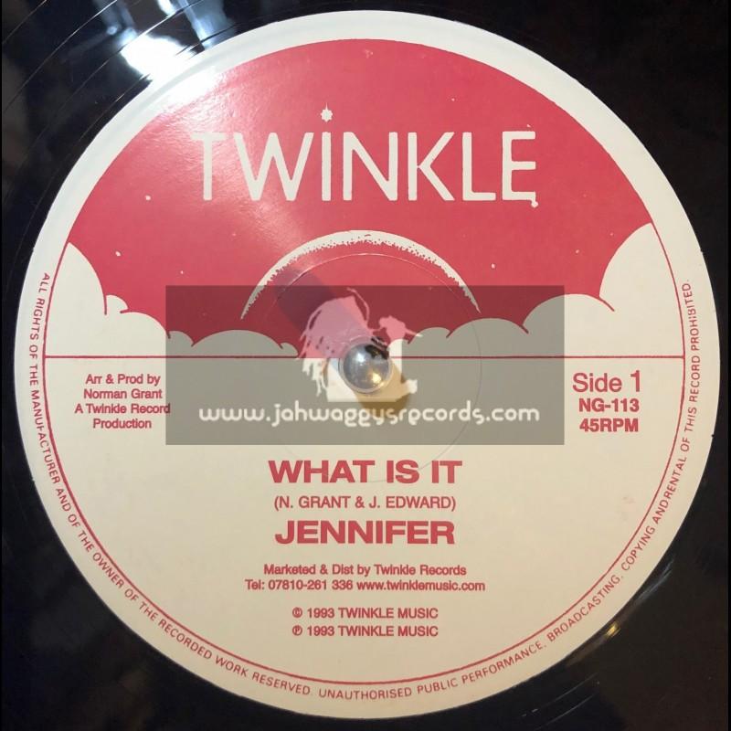 "Twinkle Music-12""-What Is It / Jennifer + Do His Works / Jennifer"